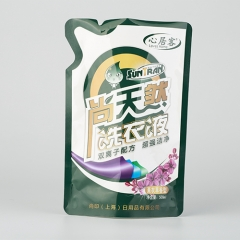 Liquid Detergent Shaped Packaging Bag
