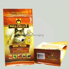 Pet Food Packaging Square Bottom Pouches