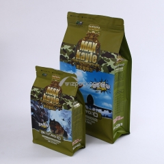 Flat Bottom Bag for Pet Food