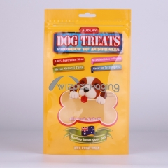 Stanp-up Packaging Pouch for Pet Treat