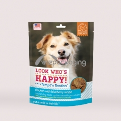 Stand Up Pouch with Tear Notch for Pet Food