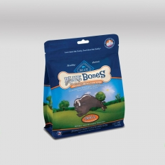 Matt Flat Bottom Bags for Pet Food