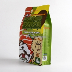 Flat Bottom Pouches for Pet Food