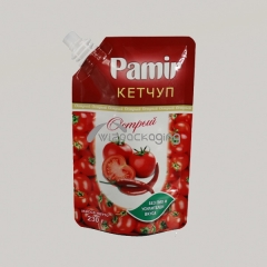 Food Packaging Doypack Spout Pouch for Tomato Sauce