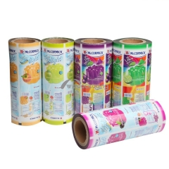 Custom Printed Rollstock Film for Product Packaging