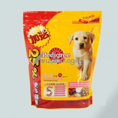 Stanp-up Packaging Pouch for Pet Food