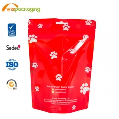 Stand up Pouch for Dog Treat Packaging,with Clear Window