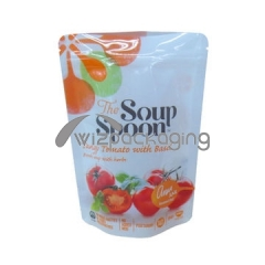Custom Stand Up Retort Pouch For Soups And Sauces