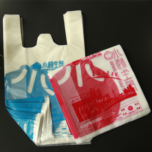 Starch-based Biodegradable Vest Bags, Grocery Bags